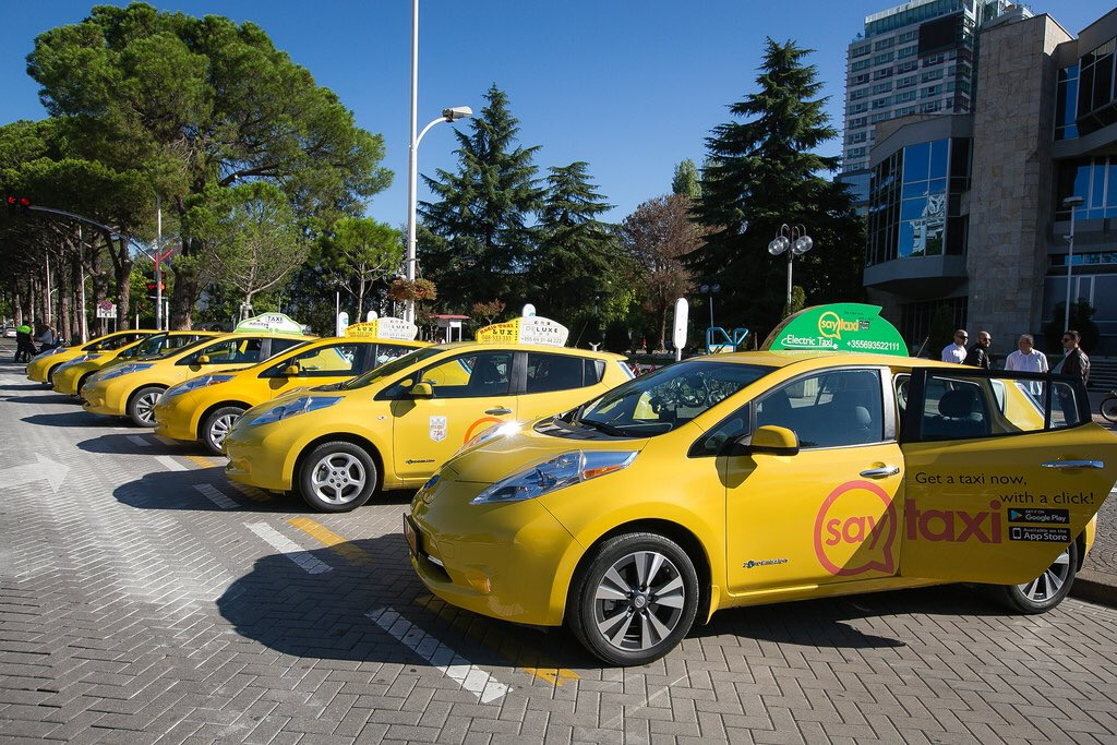 Saytaxi Albania: riding into the future with electric vehicles